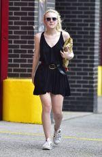 DAKOTA FANNING Out in New York 05/26/2016