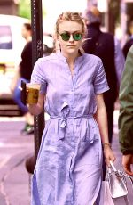 DAKOTA FANNING Out Shopping in New York 05/29/2016