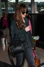 DAKOTA JOHNSON at Los Angeles International Airport 05/23/2016