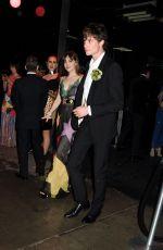 DAKOTA JOHNSON Leaves Met Gala After-party in New York 05/02/2016