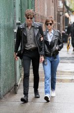 DAKOTA JOHNSON Out and About in New York 05/03/2016