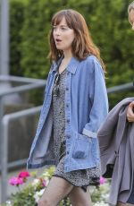 DAKOTA JOHNSON Out and About in Vancouver 05/09/2016