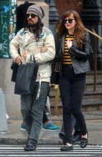 DAKOTA JOHNSON Out in New York 05/01/2016
