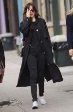 DAKOTA JOHNSON Out in New York  05/02/2016