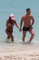DANIELLA SEMAAN in Bikini at a Beach in Miami 05/22/2016