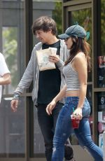 DANIELLE CAMPBELL at a Starbucks in Los Angeles 05/04/2016