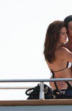 DANIELLE CAMPBELL in Bikini at a Yacht in Cabo San Lucas 05/14/2016