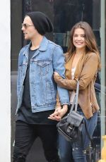 DANIELLE CAMPBELL Out Shopping in Venice 05/10/2016