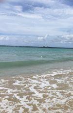 DEBBIE GIBSON in Bikini on the Beach in Puerto Rico, May 2016