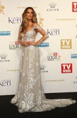 DELTA GOODREM at 58th Annual Logie Awards in Melbourne 05/08/2016