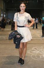 DEMI HARMAN at Bec & Bridge Show at Mercedes-Benz Fashion Week in Sydney 05/17/2016