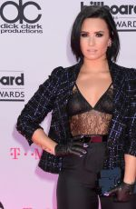 DEMI LOVATO at 2016 Billboard Music Awards in Las Vegas 05/22/2016