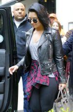 DEMI LOVATO Leaves Her Hotel in New York 05/03/2016