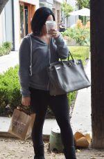 DEMI LOVATO Leaves Nine Zero One Salon in West Hollywood 05/25/2016