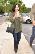 DEMI LOVATO Out and About in West Hollywood 05/18/2016