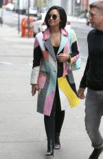 DEMI LOVATO Out in New York 05/02/2016