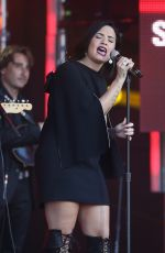 DEMI LOVATO Performs at Jimmy Kimmel Live 05/24/2016
