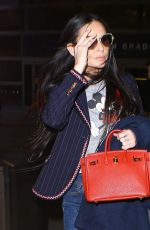 DEMI MOORE at LAX Airport in Los Angeles 05/27/2016