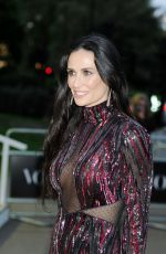 DEMI MOORE at Vogue 100th Anniversary Gala Dinner in London 05/23/2016