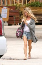 DENISE RICHARDS in Cut Off Shopping in Malibu 05/15/2016