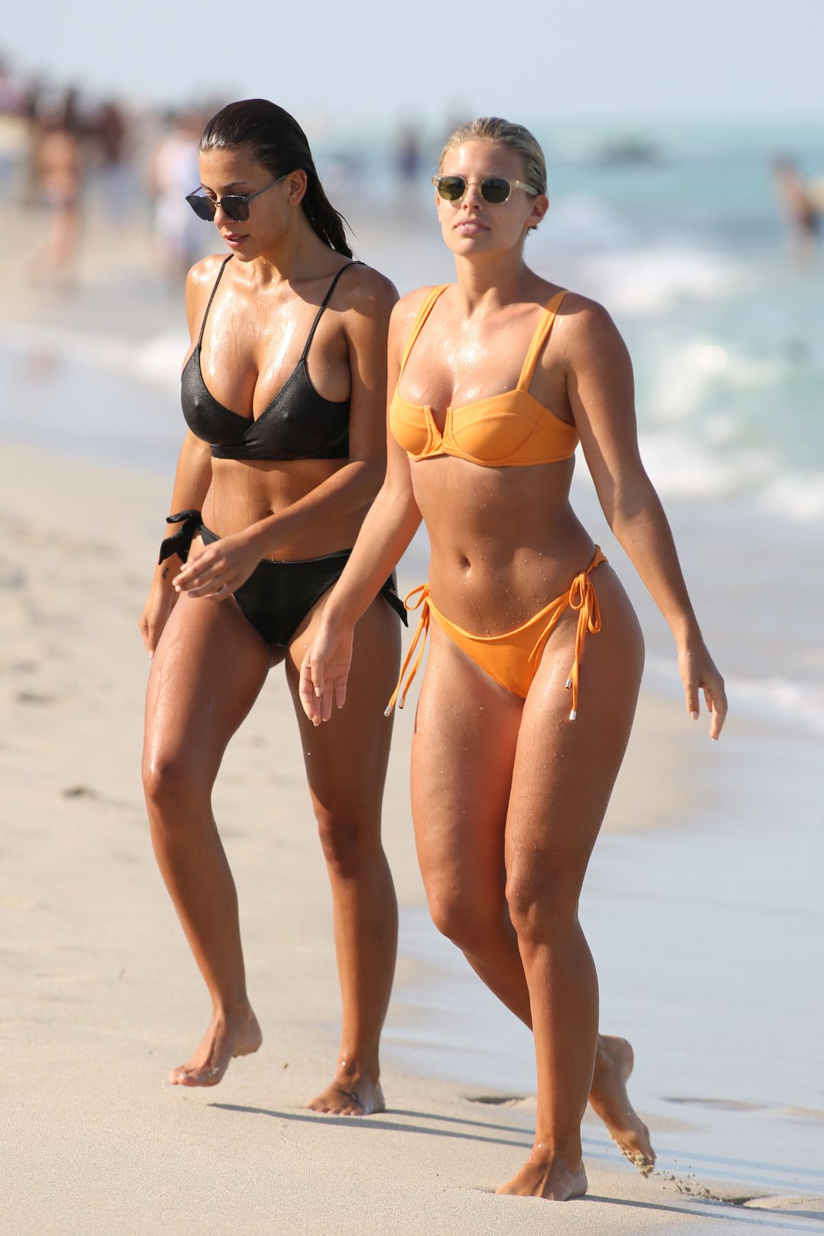 DEVIN BRUGMAN and NATASHA OAKLEY in Bikinis at Miami Beach 05/06/2016