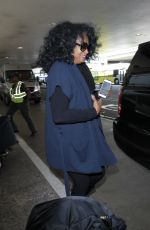DIANA ROSS at LAX Airport in Los Angeles 05/17/2016