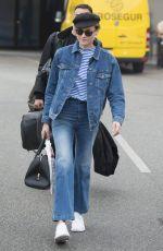 DIANE KRUGER at Tegel Airport in Berlin 05/25/2016