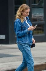 DIANE KRUGER in Jeans Out in New York 05/13/2016