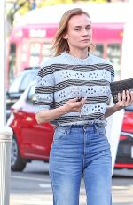 DIANE KRUGER Out and About in Los Angeles 05/20/2016