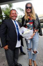 DOUTZEN KROES at Nice Airport 05/10/2016