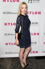 DOVE CAMERON at Nylon Young Hollywood Party in West Hollywood 05/12/2016