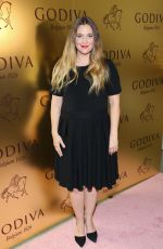 DREW BARRYMORE at Godvia's 90th Anniversary at Marlborough Gallery in New York 05/13/2016