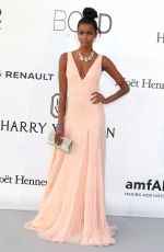 EBONEE DAVIS at Amfar's 23rd Cinema Against Aids Gala in Antibes 05/19/2016