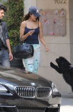 EIZA GONZALEZ Out and About in Beverly Hills 05/10/2016