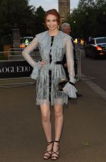 ELEANOR TOMLINSON at Vogue 100th Anniversary Gala Dinner in London 05/23/2016