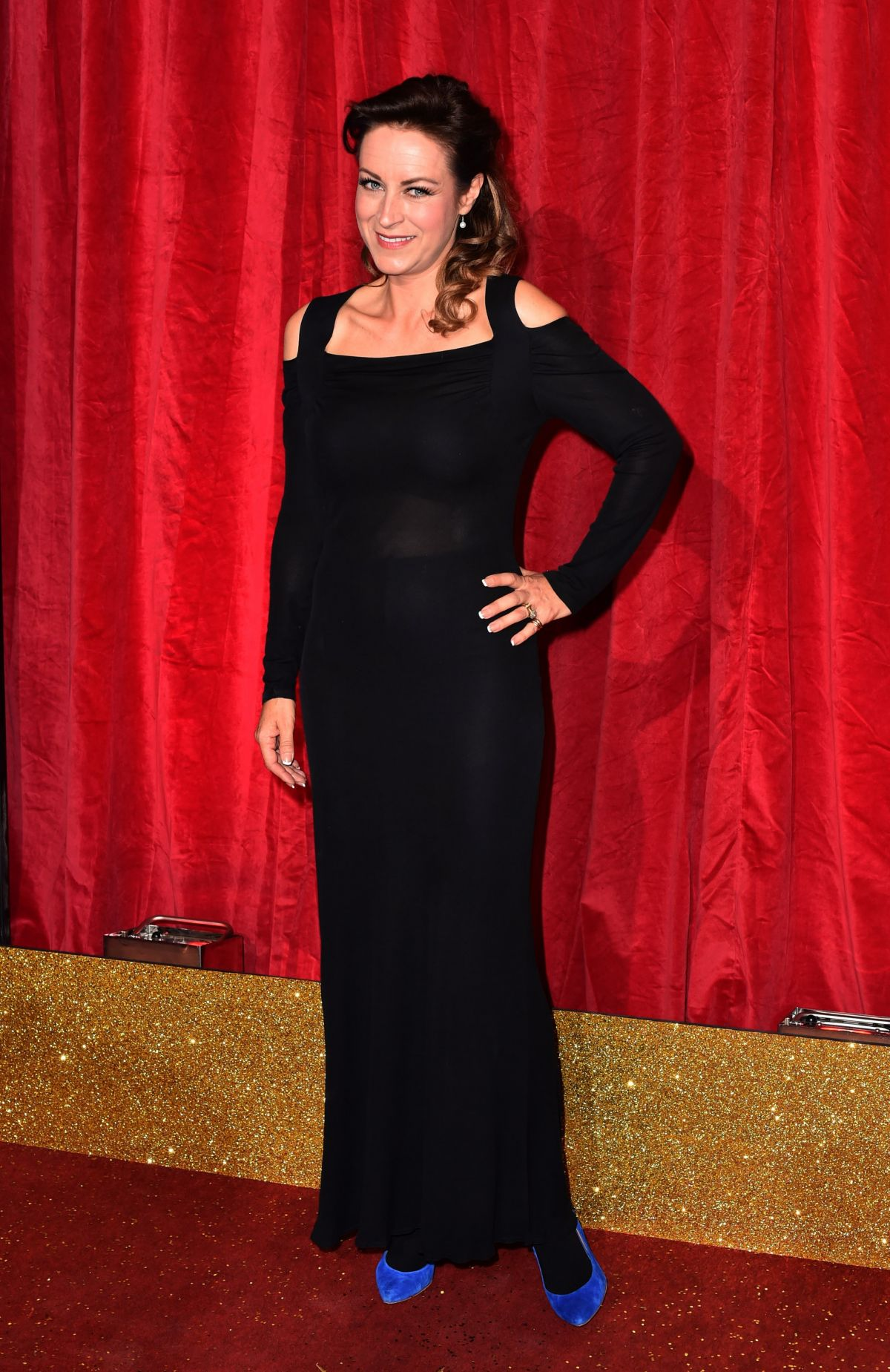 ELISABETH DERMOT WALSH at British Soap Awards 2016 in London 05/28/2016