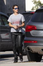 ELISABETTA CANALIS Out for Lunch at Urth Cafe in West Hollywood 05/10/2016