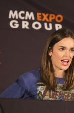 ELIZABETH HENSTRIDGE at Agent of S.H.I.E.L.D Panel at MCM Comic-con in London 05/28/2016