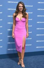 ELIZABETH HURLEY at NBC/Universal Upfront Presentation in New York 05/16/2016