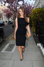 ELIZABETH HURLEY Out and About in London 05/05/2016