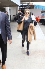 ELIZABETH OLSEN at LAX Airport in Los Angeles 05/07/2016