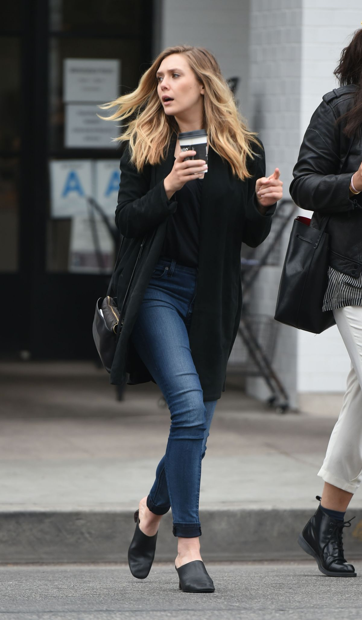 elizabeth olsen out and about in los angeles 05192016