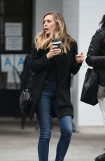ELIZABETH OLSEN Out and About in Los Angeles 05/19/2016