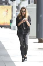 ELIZABETH OLSEN Out and About in Los Angeles 05/20/2016