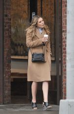 ELIZABETH OLSEN Out in New York 05/02/2016