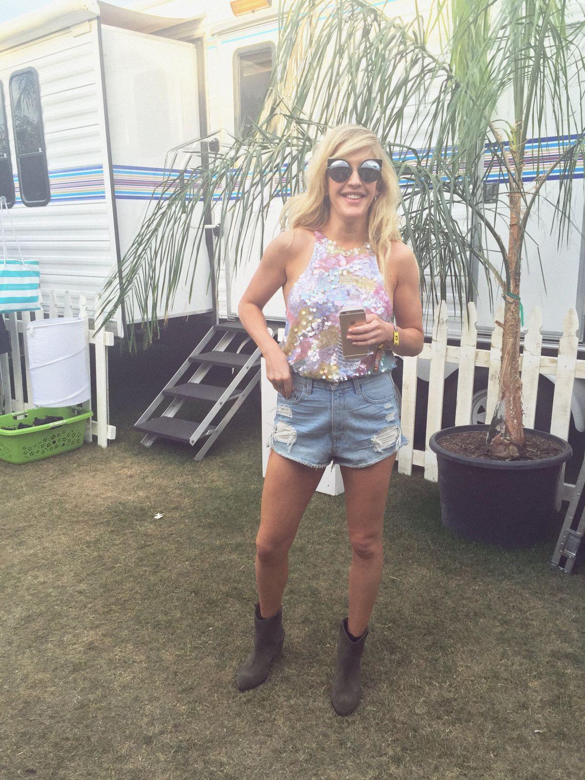ELLIE GOUYLDING in Vogue: Coachella 2016