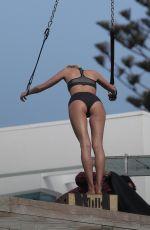 ELSA HOSK on the Set of a Photoshoot in Malibu 05/04/2016