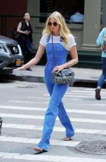 ELSA HOSK Out and About in Tribeca 05/25/2016