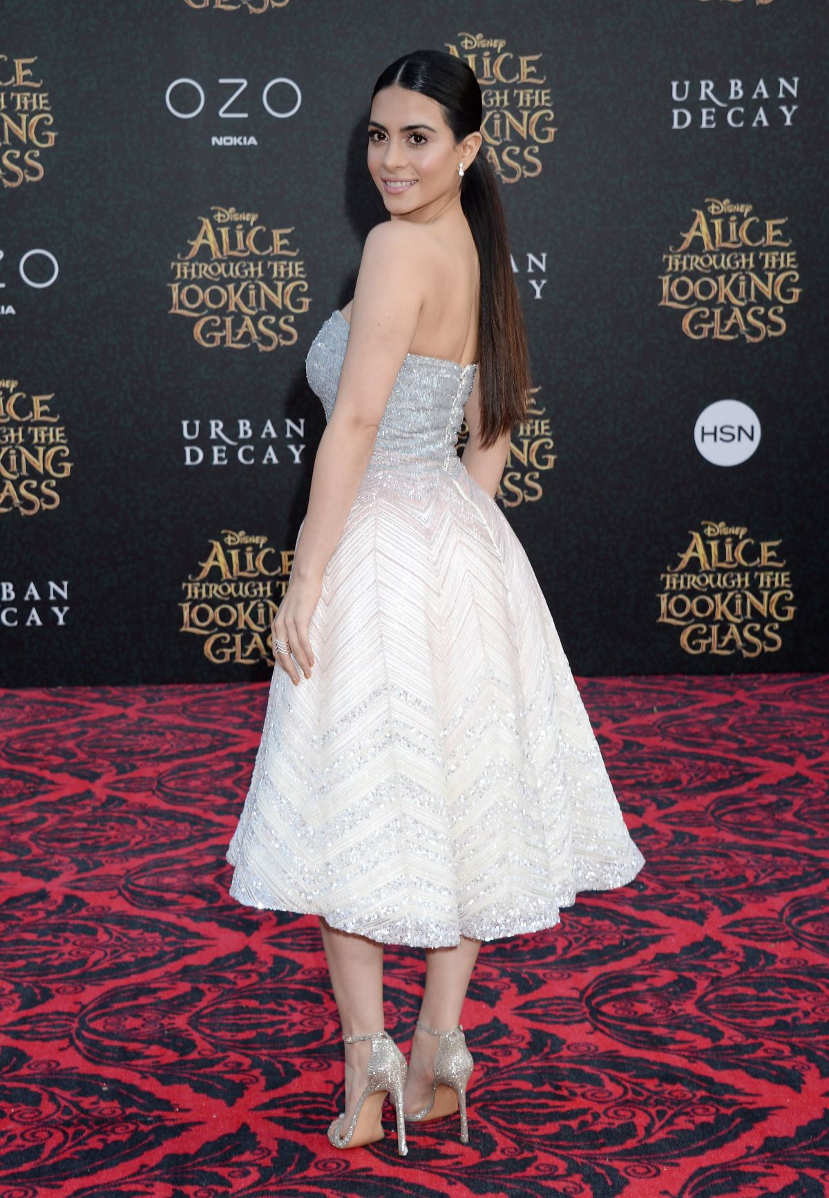 EMERAUDE TOUBIA at Alice Through the Looking Glass Premiere in Hollywood 05/23/2016