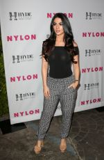 EMERAUDE TOUBIA at Nylon Young Hollywood Party in West Hollywood 05/12/2016